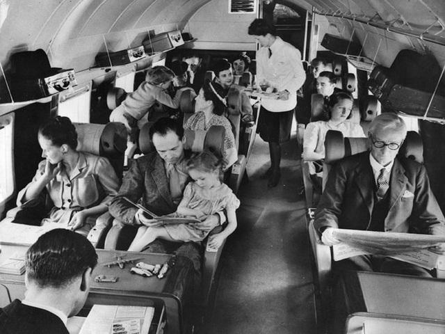 Hình ảnh cho thấy những đổi thay trong các chuyến bay xưa và nay - 16