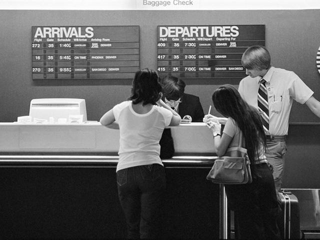 Hình ảnh cho thấy những đổi thay trong các chuyến bay xưa và nay - 4
