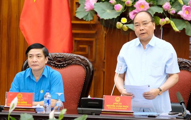 Thủ tướng yêu cầu tập trung giải quyết, xử lý các kiến nghị của công nhân, người lao động tại cuộc đối thoại với Thủ tướng ở một số địa phương.