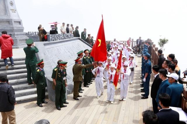Sự kiện đặc biệt này là chương trình đầu tiên mở màn chuỗi hoạt động Kỷ niệm ngày Thương binh – Liệt sỹ được tổ chức tại khu du lịch Sun World Fansipan Legend.