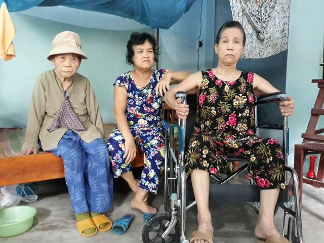 Cuộc sống của mẹ con bà Ngan thiếu thốn đủ bề