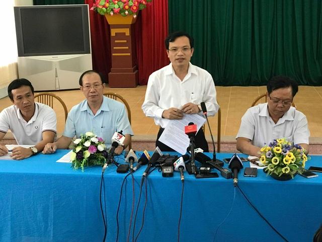 Ông Mai Văn Trinh - Cục trưởng Cục Quản lý chất lượng (Bộ GD&ĐT) công bố 6 sai phạm tại Kỳ thi THPT quốc gia 2018 ở Sơn La