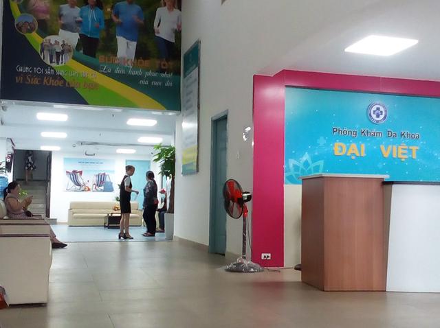 Công ty TNHH phòng khám đa khoa Đại Việt bị Thanh tra Sở Y tế TP.HCM phạt 9,4 triệu đồng. Ảnh: TRẦN NGỌC