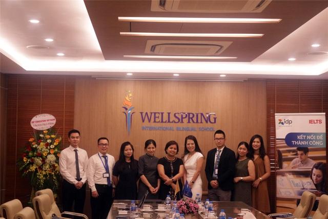 Lễ ký kết hợp tác giữa trường Wellspring Hà Nội và IDP Việt Nam - 1