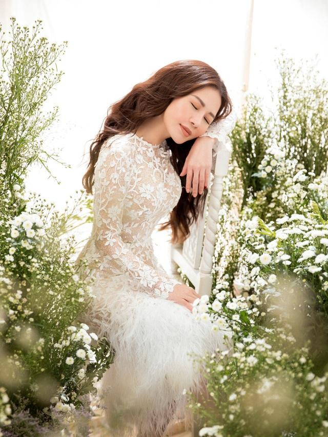 Doanh nhân – Hoa khôi Lan Phương đẹp tinh khôi với sắc trắng - Ảnh 3.