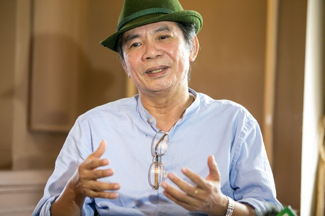 Nhà thơ- nhạc sĩ Nguyễn Trọng Tạo kể chuyện trở về từ cõi chết khi tai biến... (Ảnh: HBN)