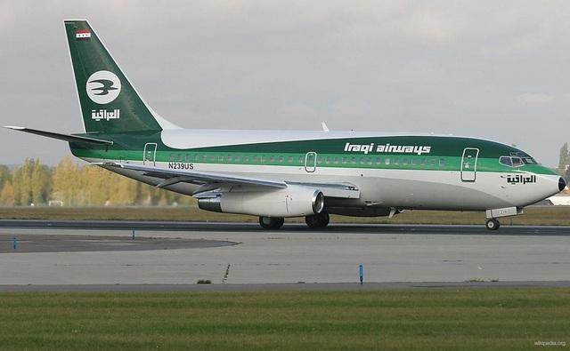 Máy bay của hãng Iraqi Airways (Ảnh: Wikipedia)