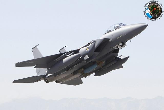Máy bay chiến đấu F-15K của Hàn Quốc (Ảnh minh họa: The Aviationist)