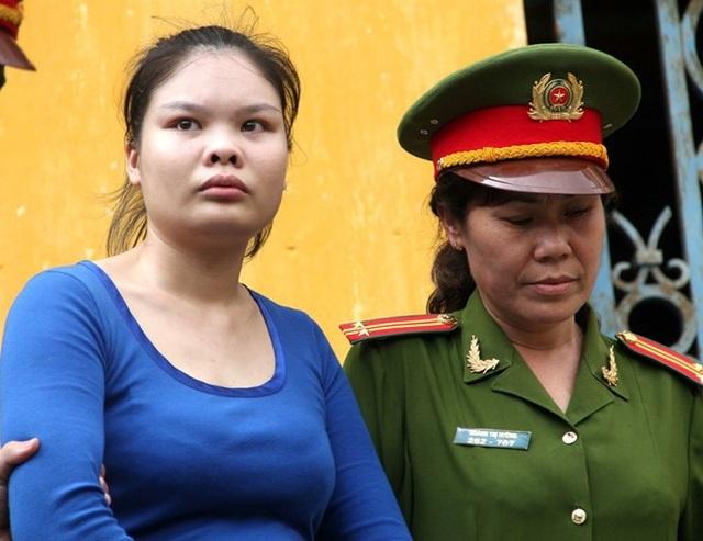 Nguyễn Thị Lượm được giảm án.