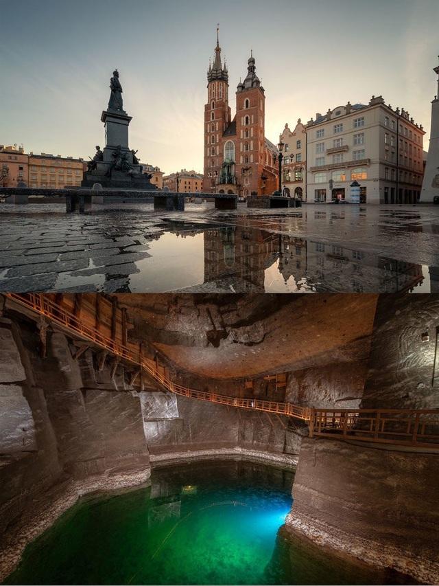 Có gì bên dưới những thắng cảnh nổi tiếng nhất châu Âu? - 4