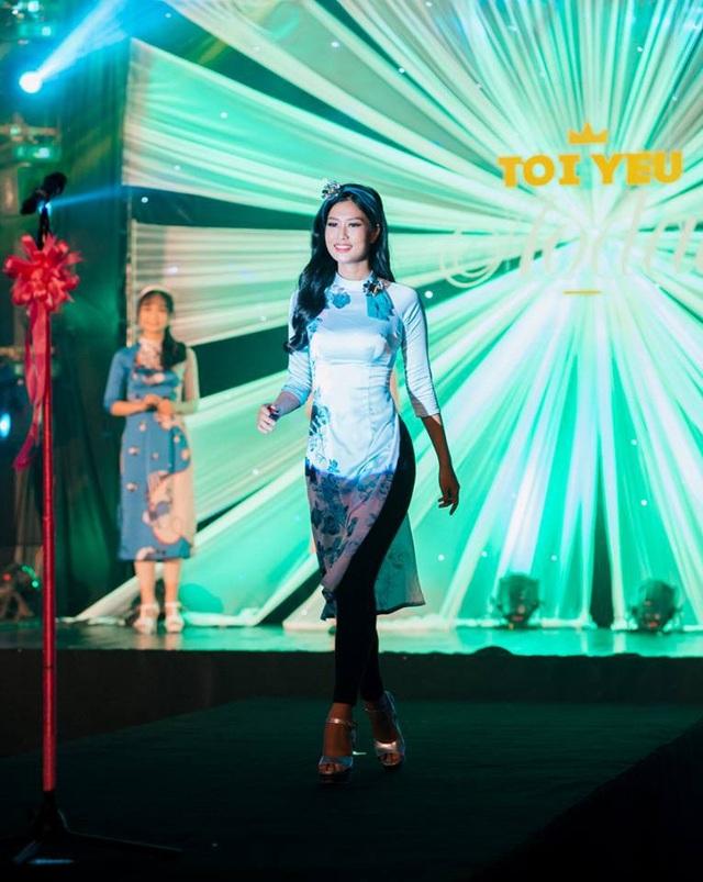 Nữ sinh Đoàn Thiên Ân trong các màn trình diễn trong đêm chung kết