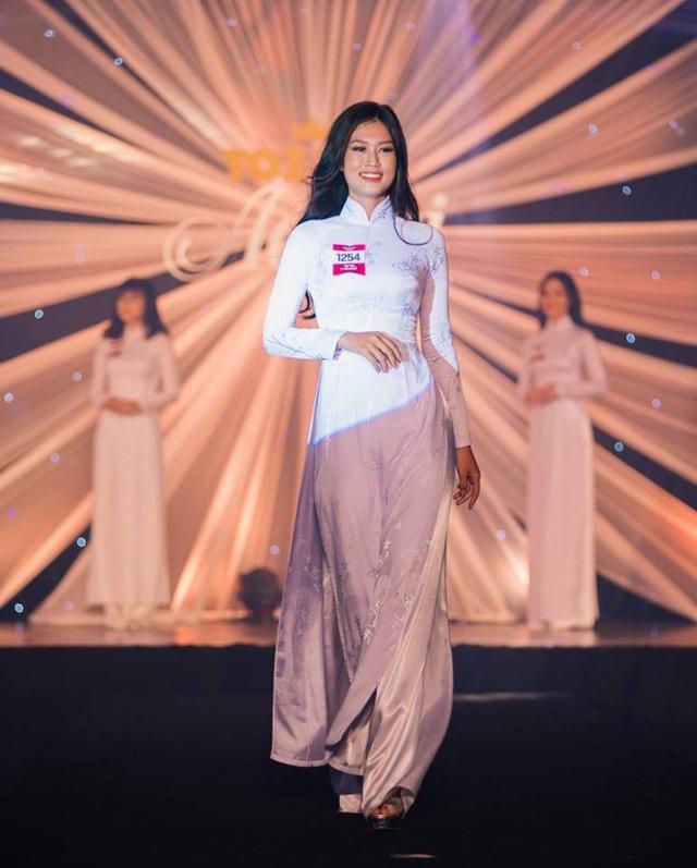 Nữ sinh cao 1m75 đăng quang gương mặt Nữ sinh Áo dài 2018 - 3