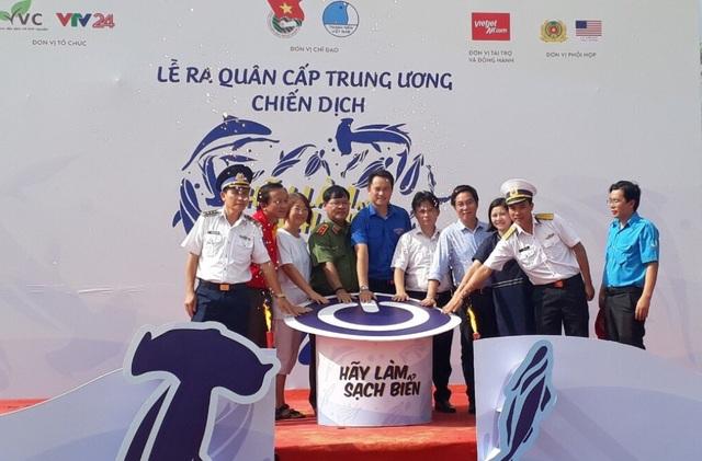 Ban tổ chương chương trình thực hiện nghi thức lễ ra quân làm sạch môi trường biển tại huyện đảo Phú Quốc