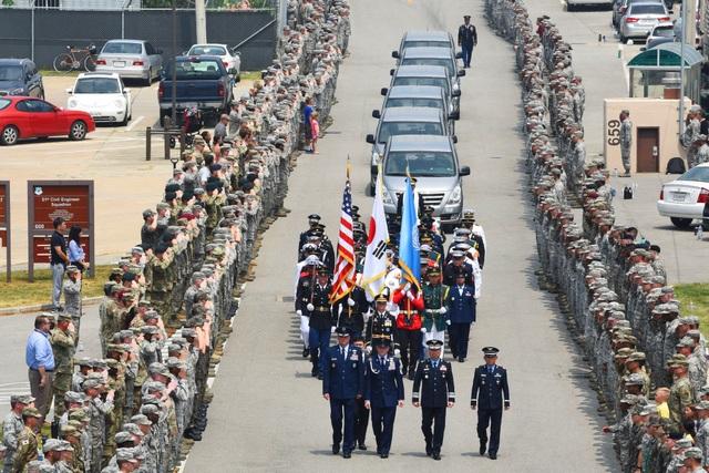 Khoảng 36.500 lính Mỹ đã thiệt mạng trong Chiến tranh Triều Tiên, song hài cốt của hơn 7.700 người vẫn chưa được tìm thấy. Khoảng 5.300 hài cốt được cho là vẫn nằm trên lãnh thổ Triều Tiên. (Ảnh: Bộ Quốc phòng Mỹ)
