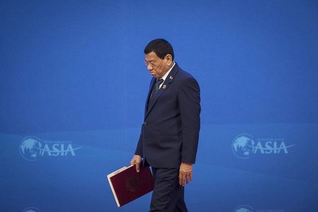Tổng thống Philippines Rodrigo Duterte Ảnh: Bloomberg