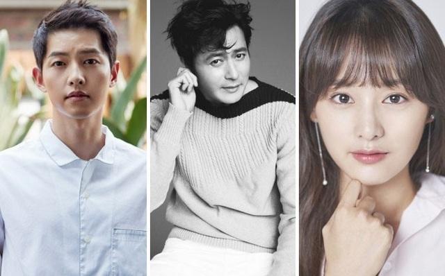 Song Joong-ki; Jang Dong-gun; Kim Ji-won