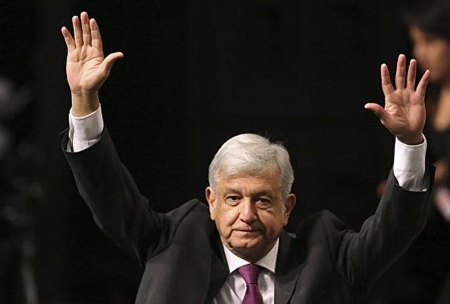 Ông Manuel Lopez Obrador.