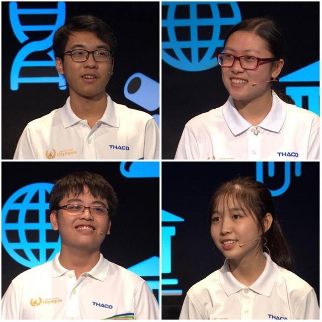 4 thí sinh Tiến Mạnh, Nhật Hoàng, Hà Anh, Thảo Trang