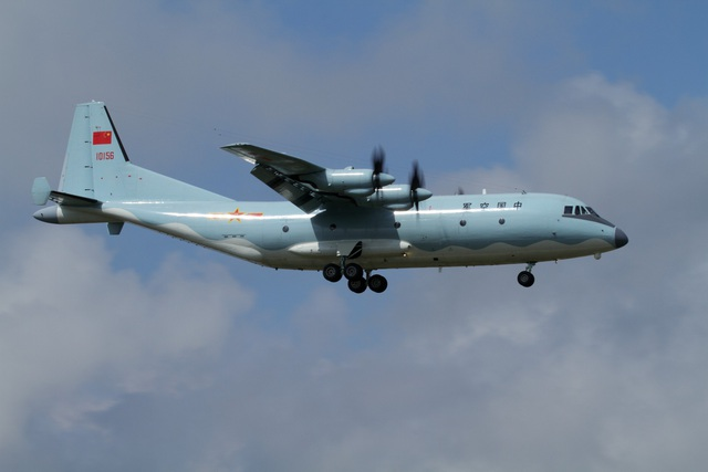 Máy bay Y-9 của Trung Quốc (Ảnh: Wikimedia)