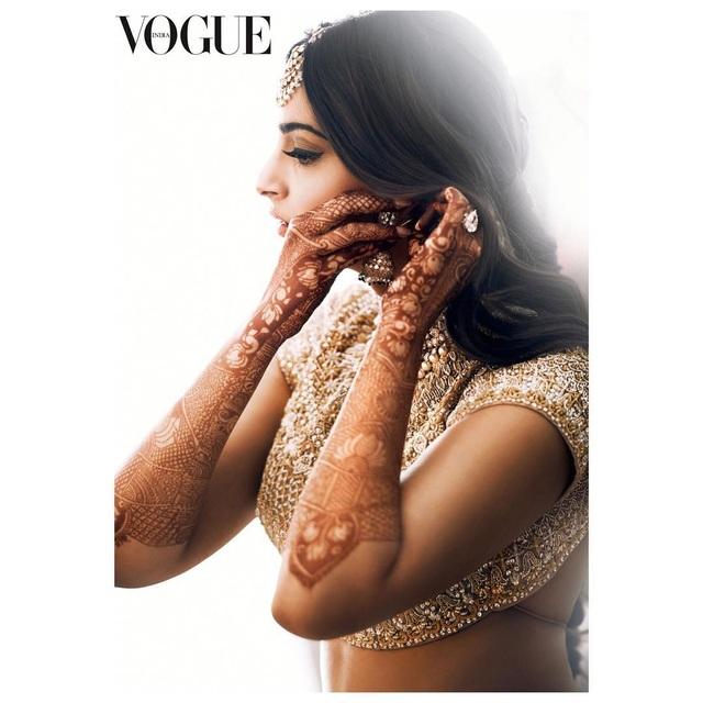 Những hình ảnh đẹp như mơ trong hôn lễ minh tinh Ấn Độ - 2