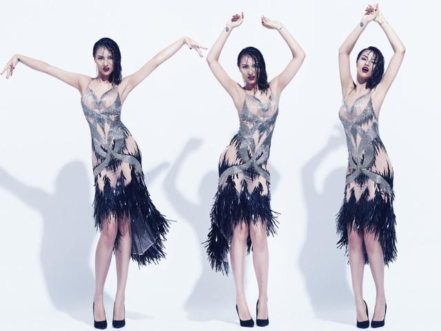 Hồng Quế, Hoàng Yến phô diễn ngực khủng trong loạt váy hở bạo, ướt át - 17