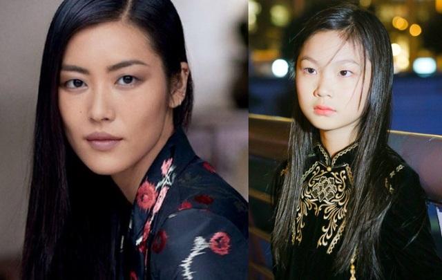 Tất cả các đường nét của Dịch Huyên khi kết hợp lại khiến người khác nghĩ ngay đến Liu Wen (ảnh trái) - siêu mẫu số 1 châu Á và cũng là người Trung Quốc (mỹ từ báo chí dành tặng cho Liu Wen, một trong những người mẫu giúp nền thời trang khu vực vươn xa trên thị trường quốc tế).
