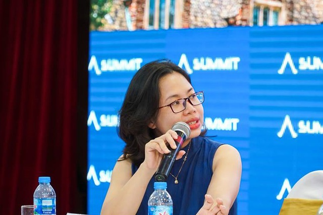 Diễn giả Lê Diệu Linh, tốt nghiệp Đại học Williams - top 1 đại học khai phóng Mỹ.