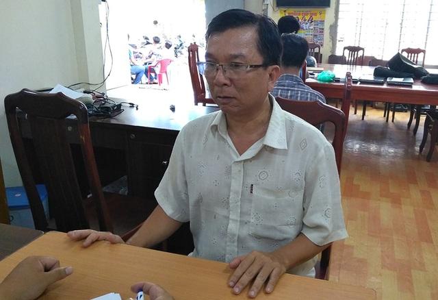 Đối tượng Nguyễn Văn Hoà