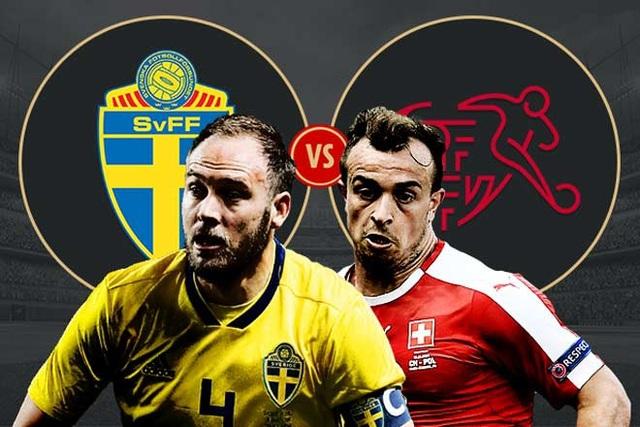 Thụy Điển-Thụy Sỹ được coi là cuộc đối đầu cân tài cân sức