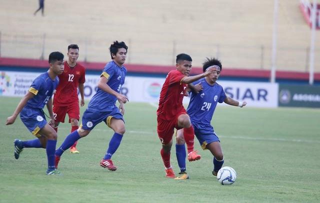U19 Việt Nam sử dụng khá nhiều cầu thủ dự bị