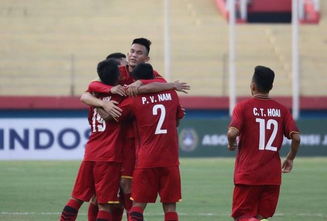 Niềm vui chiến thắng của U19 Việt Nam