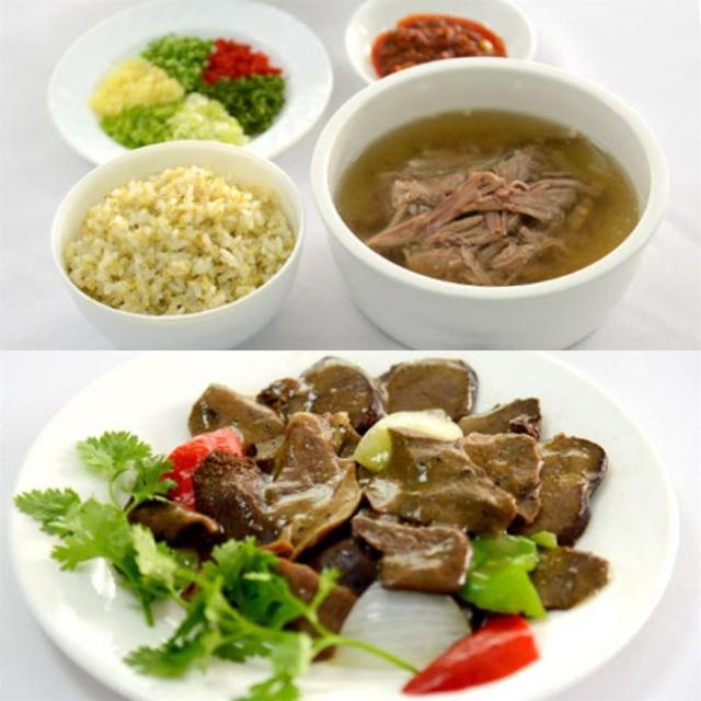 Những món ăn chế biến từ thịt chó ở Triều Tiên