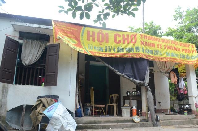Căn nhà cấp 4 của đôi vợ chồng lệch tuổi ở Hà Nam được bà con trong thôn giúp đỡ xây dựng