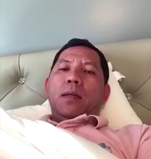 Ông Tâm - Chủ công ty đầu tư máy đào tiền ảo Sky Mining, cho biết đang chữa bệnh và sẽ sớm trả lại tiền cho nhà đầu tư.