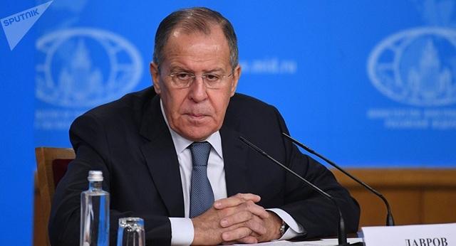 Ngoại trưởng Nga Sergei Lavrov (Ảnh: Sputnik)