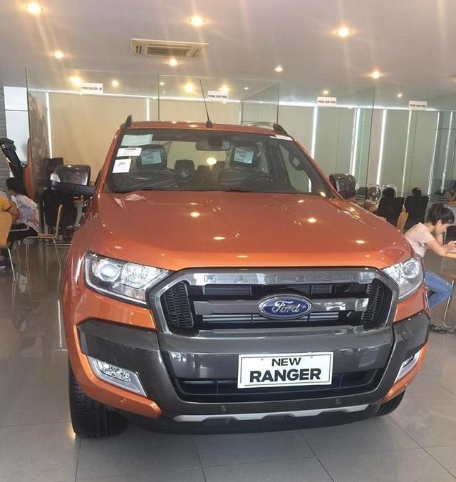 Ford Ranger đã trở lại sau nửa năm gián đoạn nguồn cung