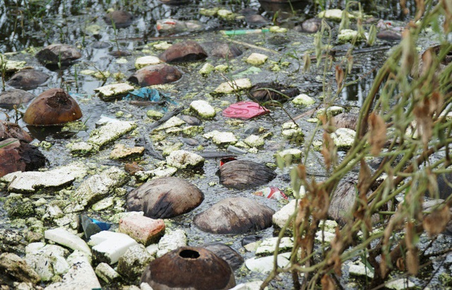 Tình trạng ô nhiễm ảnh hưởng nghiêm trọng tới cuộc sống của người dân trong vùng và môi trường du lịch nơi đây.
