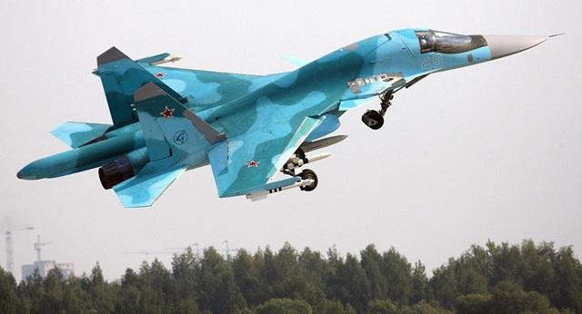 Máy bay ném bom chiến đấu Su-34 (Ảnh: Sputnik)