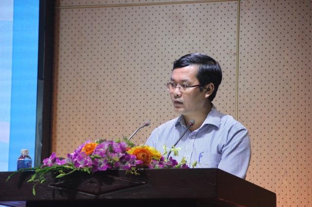 Thứ trưởng Bộ GD-ĐT Nguyễn Văn Phúc phát biểu tại buổi toạ đàm