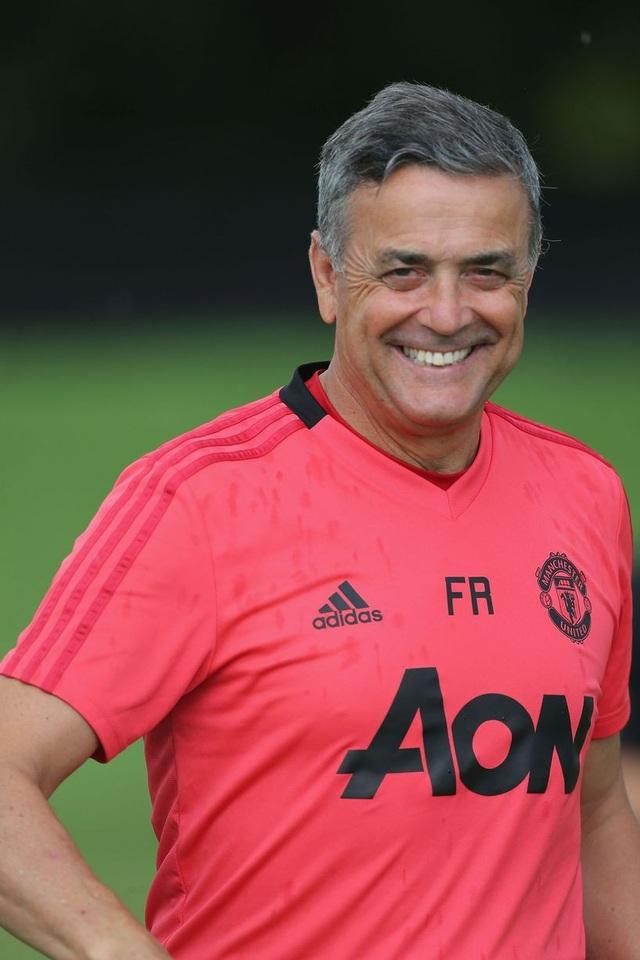 Huấn luyện viên Ricardo Formosinho vừa gia nhập đội ngũ trợ lý của Mourinho ở trong mùa Hè năm nay