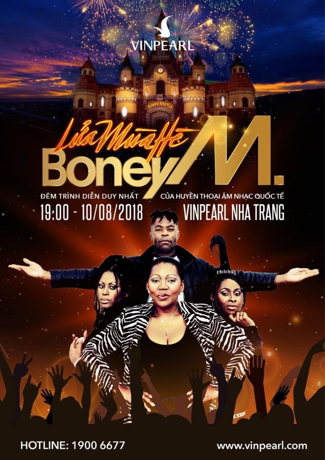 """""""Lửa mùa hè"""" - Liveshow Boney M đầu tiên tại Việt Nam - 1"""