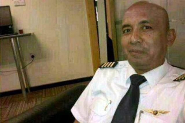 Cơ trưởng Zaharie Ahmad Shah của máy bay MH370 (Ảnh: The Star)