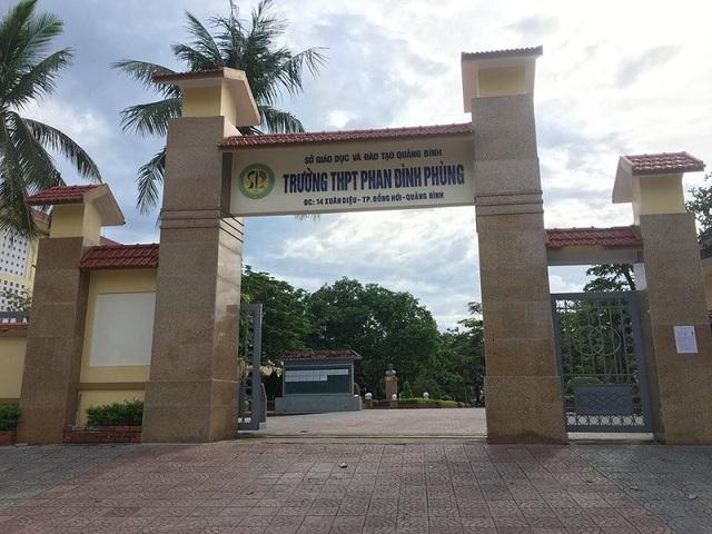 Trường THPT Phan Đình Phùng năm nay có lượng thí sinh ứng tuyển tăng đột biến