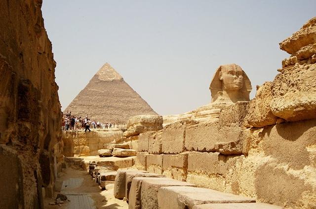 Kim tự tháp Kheops.