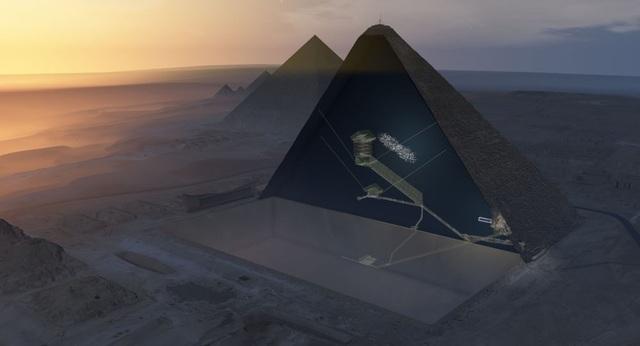 """Kim tự tháp Kheops hóa ra là """"bộ tổng"""" sóng vô tuyến - 1"""