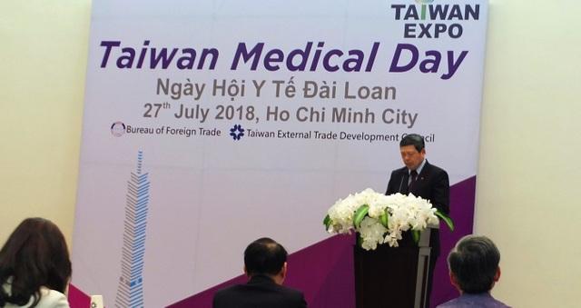 Ông Walter Yeh - Tổng Thư ký Hiệp hội Phát triển Ngoại thương Đài Loan (TAITRA)