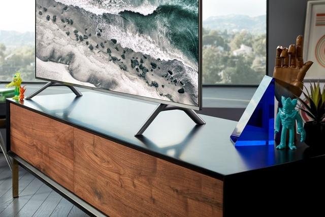 Khả năng hiển thị 100% màu sắc giúp TV QLED trở nên khác biệt so với các TV khác