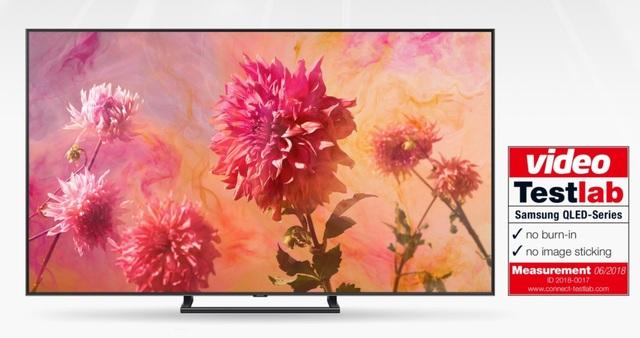 Các chuyên gia từ Trung tâm thử nghiệm Testlab đã chứng nhận TV Samsung QLED không gặp hiện tượng lưu ảnh
