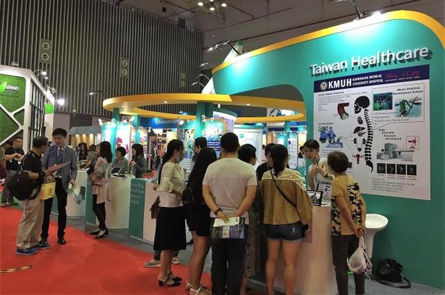 Gian hàng Triển lãm Dịch vụ Y tế Đài Loan tại Taiwan Expo 2018