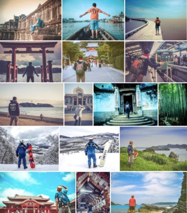 Những lần dạo chơi xuyên biên giới, Hữu Quyên đều lưu lại hình ảnh bằng cách tự đặt máy chụp từ sau lưng. Hiện giờ, Duyên đã sở hữu 1 album ảnh đẹp như mơ, lưu lại những chốn tiên cảnh ở khắp nơi trên khắp thế giới.